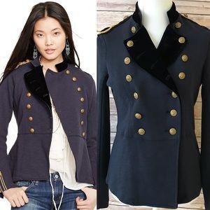 Denim & Supply Ralph Lauren Military Jacket Sz M